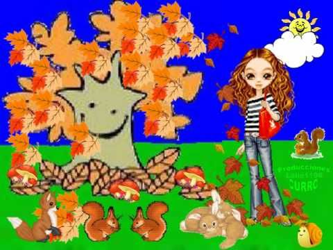 Canción Infantil El otoño. - YouTube
