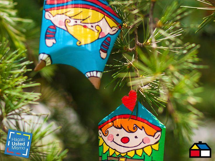 ¿Cómo hacer adornos para tu árbol navideño? #Sodimac #Navidad #HagaloUstedMismo