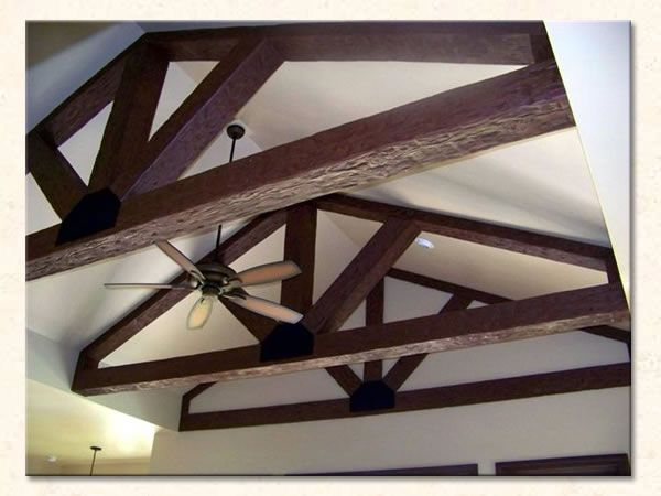 1000 images about ceiling trusses and arched beams on for Arched ceiling beams