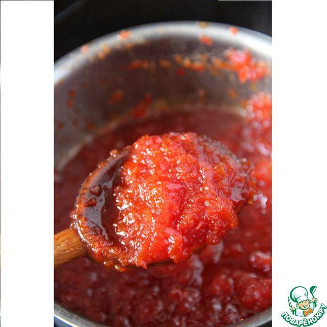 Конфитюр из острого перца эспелет ингредиенты