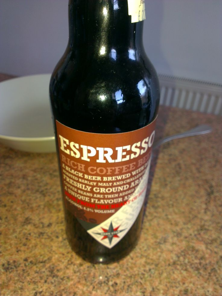 I do have a thing for Coffee Flavoured beer, This one from the Dark Star brewery, Very nice