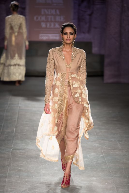 Anju Modi at India Couture Week 2014 - Indian pants and jacket