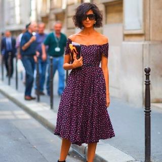 An Italian street chic hottie...