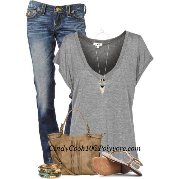 My Go To Look, created by cindycook10 on Polyvore
