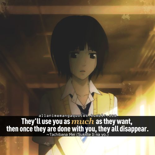 Sad Boy Alone Quotes: Best 25+ Anime Quotes About Love Ideas On Pinterest