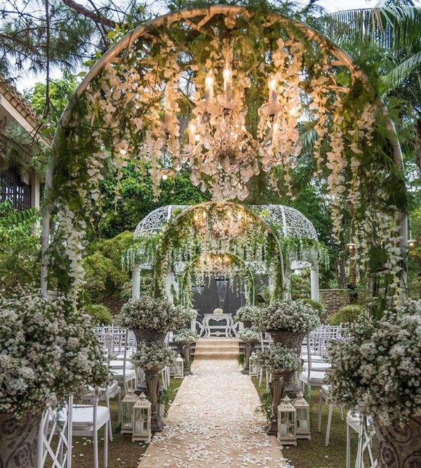 Image Discovered By Laura Eli Find Images And Videos About Beautiful Nature And Weddi Beautiful Outdoor Wedding Enchanted Garden Wedding Garden Wedding Venue