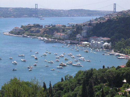 Bebek - Istanbul This was my view from my university in Istanbul:) Bogazici I miss you