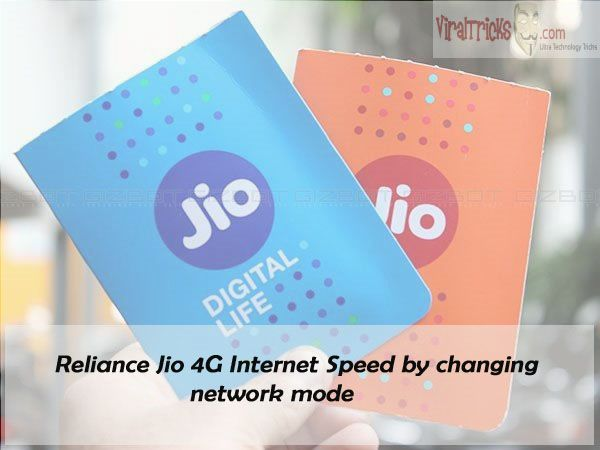 Most of us are using Reliance Jio 4G nowadays. But facing a problem of network is unchangeable condition of every network no matter which network you are going for.  Here we have brought to you a simple and short process through which you can easily increase your Reliance Jio 4G Internet Speed with easy access.