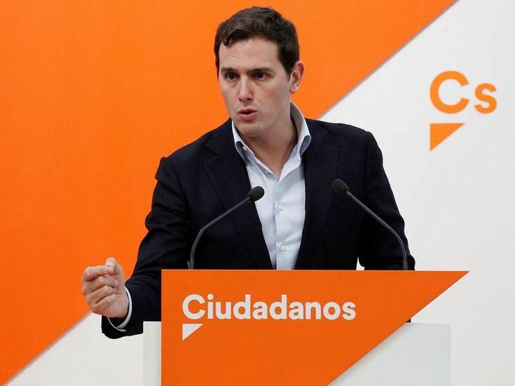 """Rivera: """"España necesita reforzar el Gobierno hacer uno nuevo limpio y creíble"""""""
