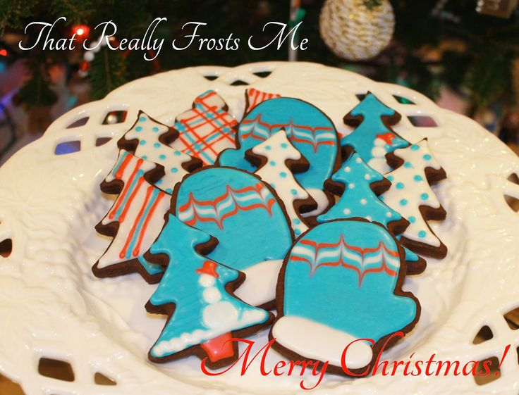 images of christmas cookies | Christmas Cookies - Snowman Trees