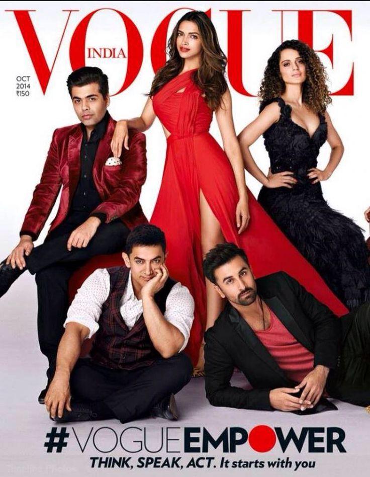 Aamir Khan in Vogue India October 2014