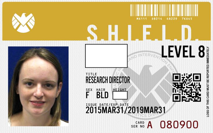 Make your own Agents of SHIELD badge! http://www.eidbadges.com/id/shield/