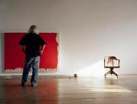 Richard Mill in his studio    - photo by Lena Mill Reuillard