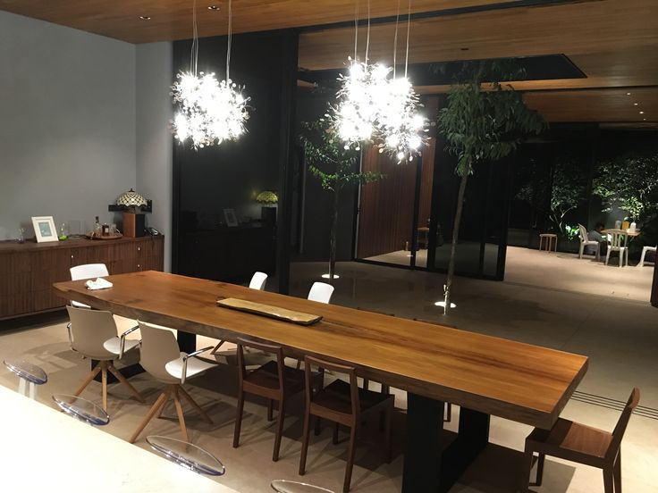 Dinng table 4 mtr  - Solid teak wood by Gappetto.id
