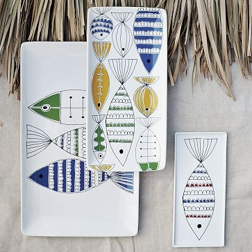 Mod Fish Platters on westelm.com -- and they're on sale!