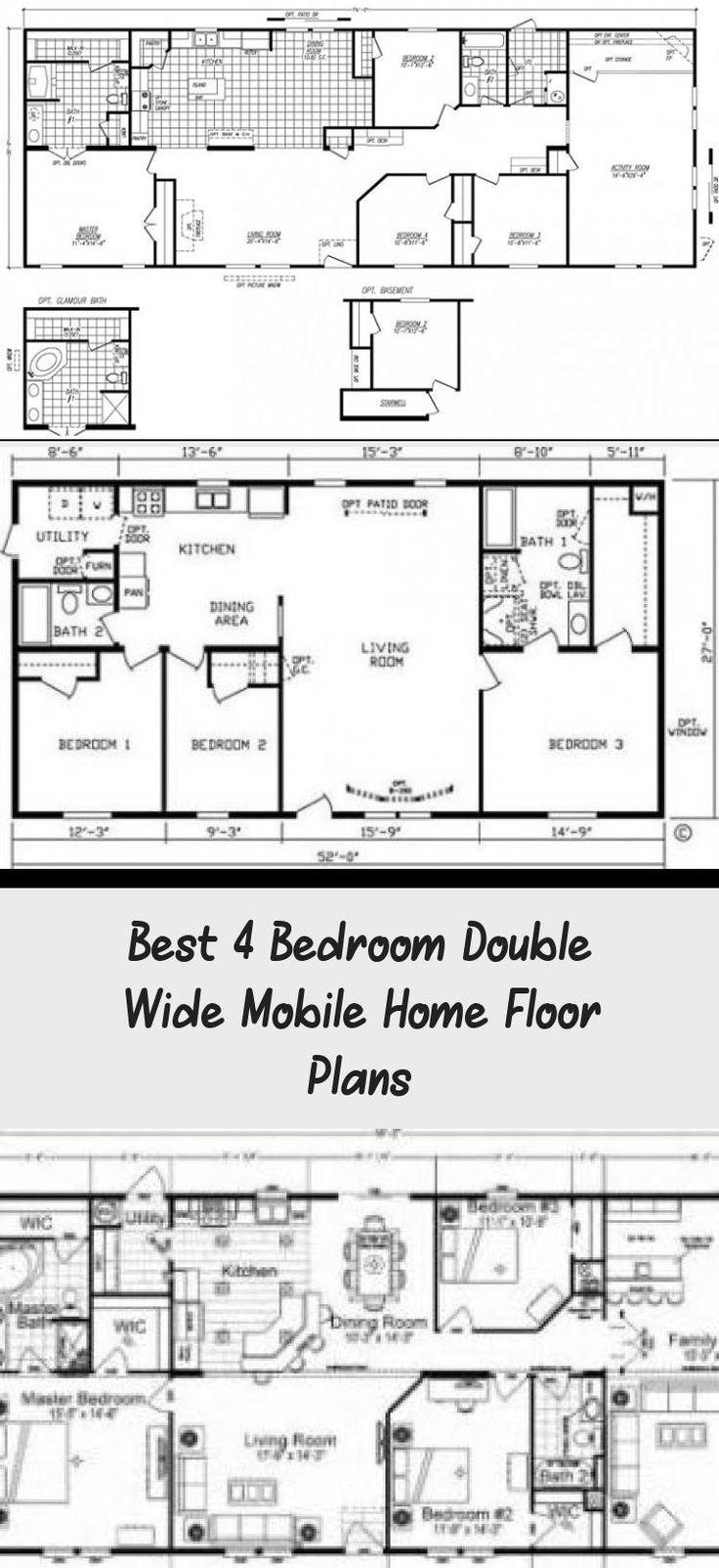 Double Wide Floor Plans 4 Bedroom Google Search
