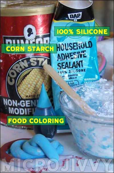 DIY Silicone Clay Recipe