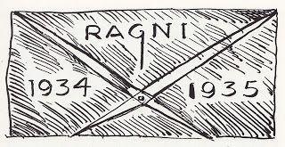 """Compás regla de oro"" (dibujo) Héctor Ragni - (Uruguay)"
