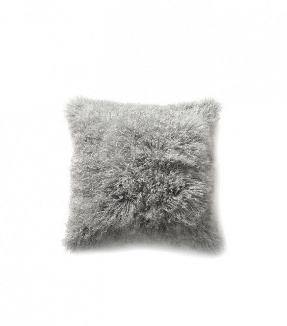West Elm Mongolian Lamb Pillow ($79)