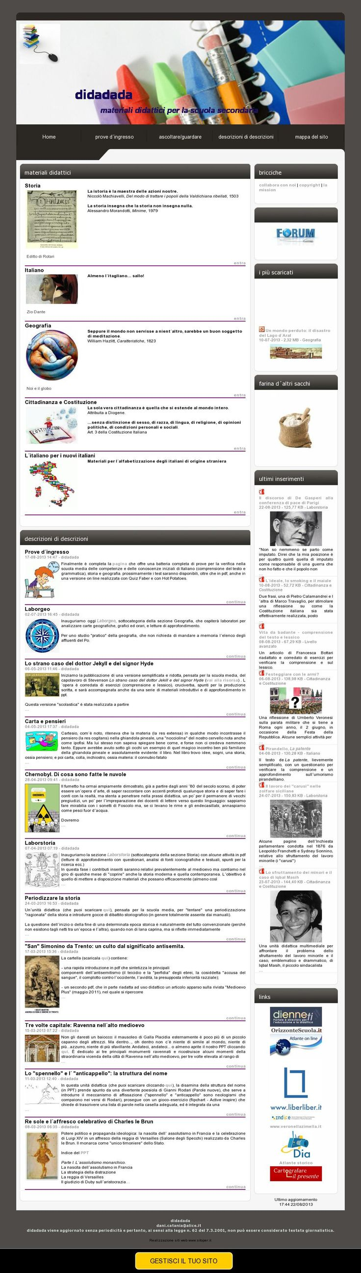 Materiali didattici per la scuola secondaria di primo grado 'http://www.didadada.it/index.php?c=3' courtesy of @Pinstamatic (http://pinstamatic.com)