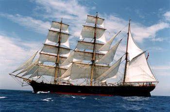"Three-masted barque ""James-Craig"""