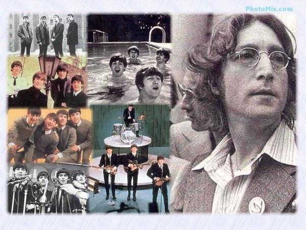 John Lennon collage-