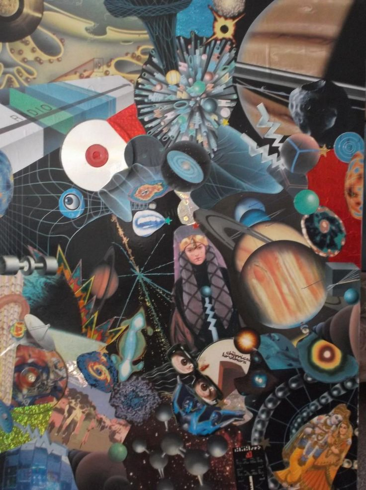 'Science Project,' 1998, Mixed Media  #Collage