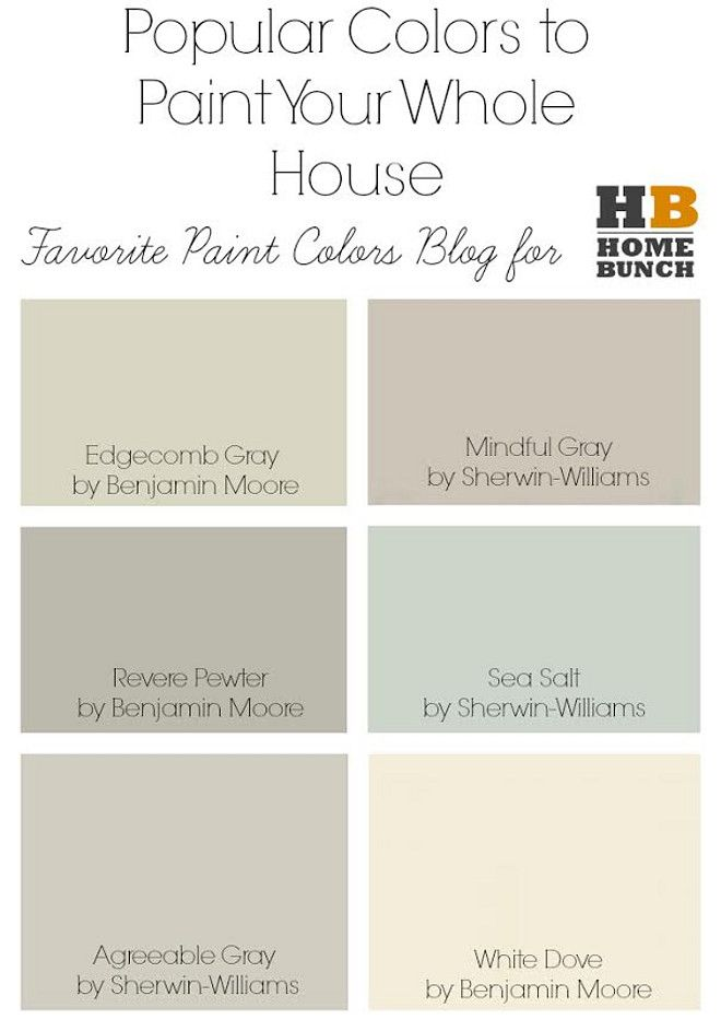 2258 best paint whole house color palette images on on best interior color schemes id=85786