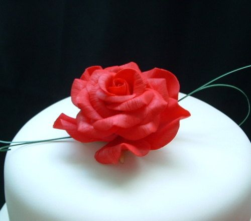 Rose Tutorial can be modified for polymer clay