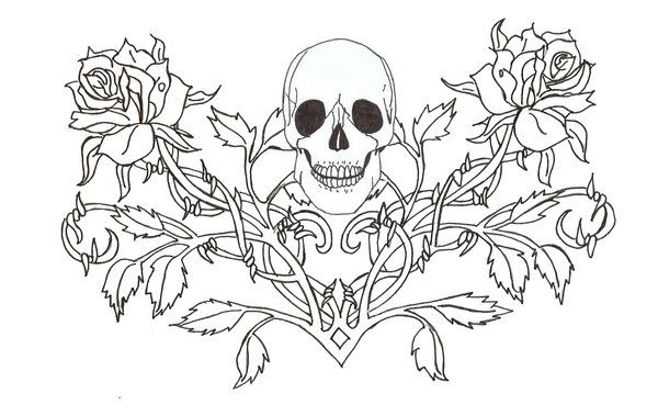 fairies gothic coloring pages - photo#29