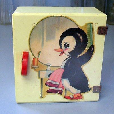 Adorable Vintage Child S Vanity Cabinet Kiddie Kabinette
