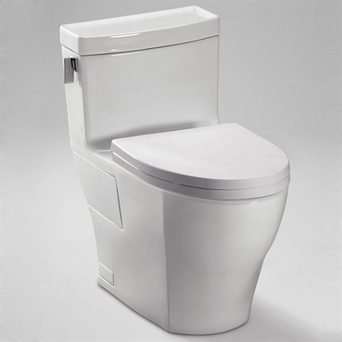 Toto Ms624214cefg One Piece Legato Toilet With Elongated