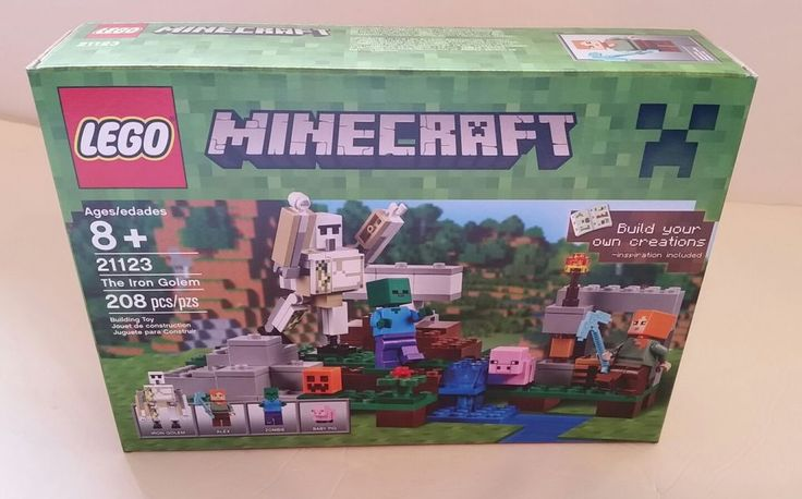 minecraft lego instructions 21123