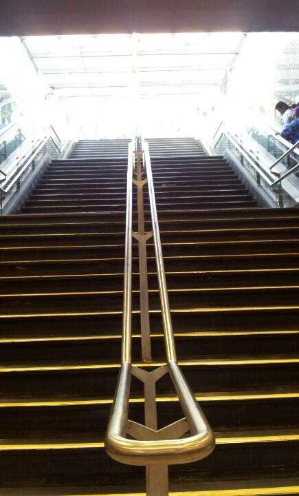 Escalera de subida y bajada