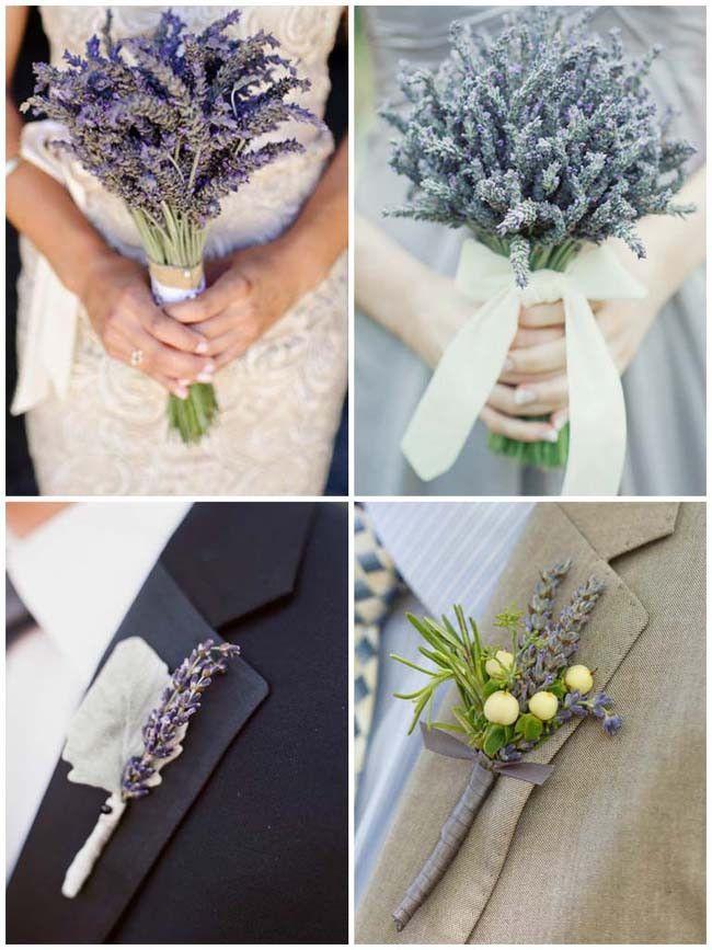 bouquet sposa lavanda + boutonnière