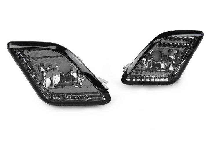 Crystal Smoked Front Bumper Sidemarkers for Mercedes Benz W221 S-Class