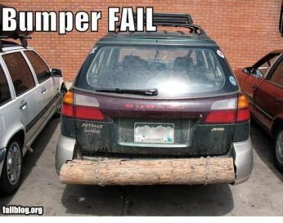 Creative bumper treatment