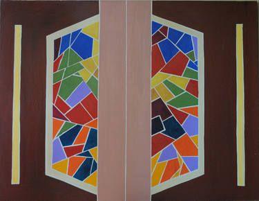 "Saatchi Art Artist NIKOS LAMPRINOS; Painting, ""΄΄inside΄΄"" #art"