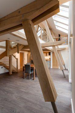 Stunning contemporary oak frame house near Torquay in Devon, UK
