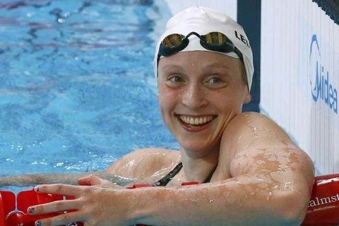 Rio 2016 Olympics Swimming: Katie Ledecky smashes own record to ...