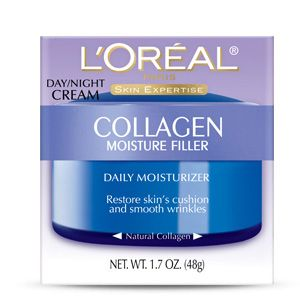 Collagen Filler Collagen Moisture Filler Day/Night Cream by L'Oreal Paris — Great value. Would/should buy this again if I'm feeling stuck. Used full jar.