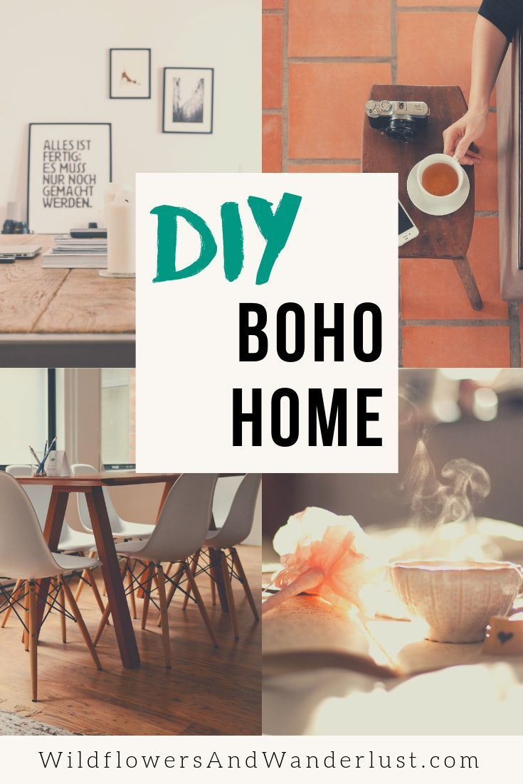 The 12 Best Diy Projects For Your Boho Decor Wildflowers And Wanderlust Cool Diy Projects Cheap Diy Home Decor Diy Home Decor