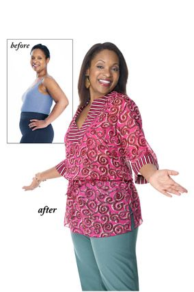 Solutions for Muffin Tops, Back Fat - How to Hide Turkey Neck - Oprah.com