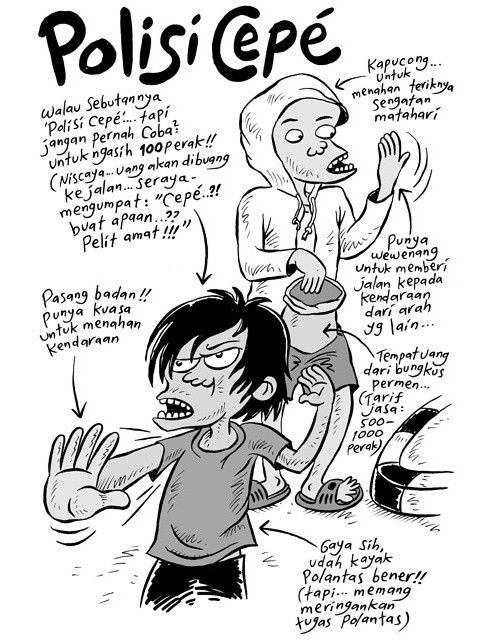 Mice Cartoon: Polisi Cepek