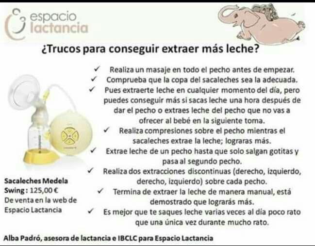 Consejos para producir mas leche materna - Alimentos para producir leche materna ...