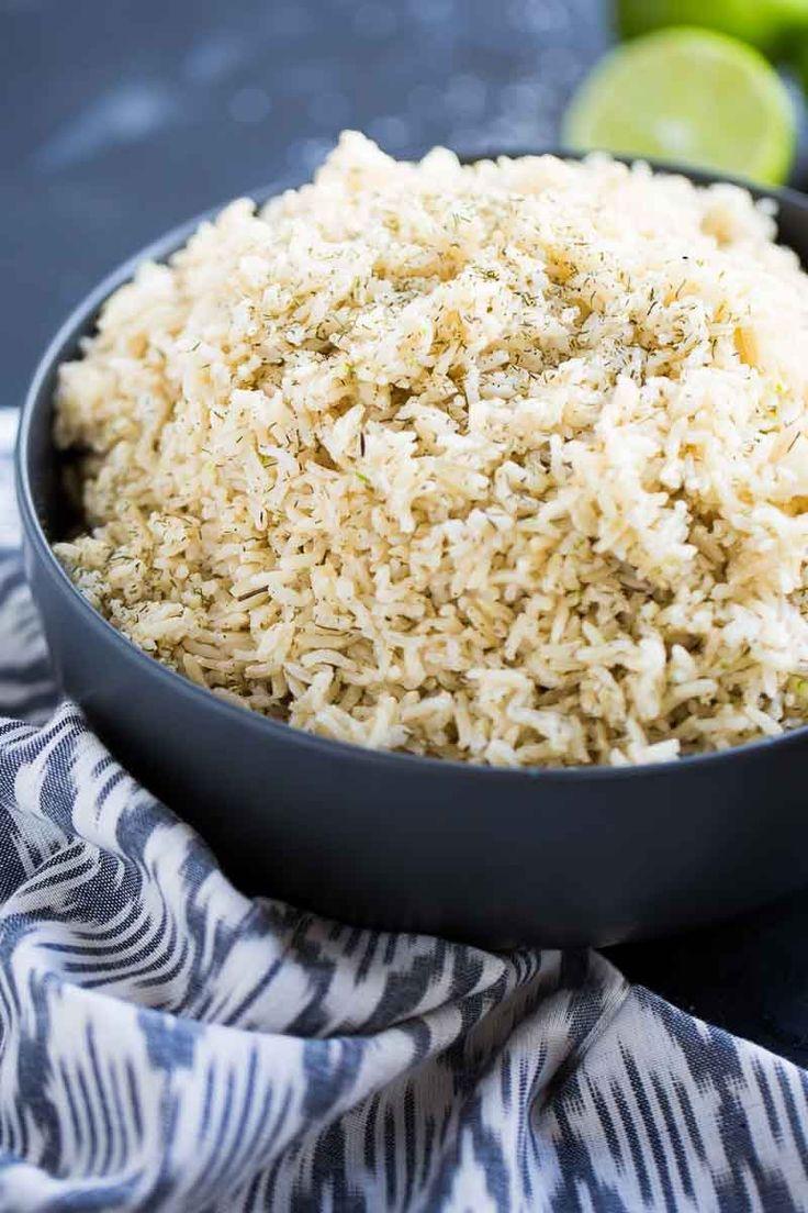 Esta es la mejor manera de hacer el arroz integral para que te quede perfecto. También te doy ideas de como darle sabor para que le guste a toda tu familia. Snack, Grains, Rice, Recipes, Food, Fresco, Ideas, Easy Vegan Recipes, Vegan Food