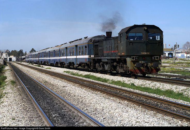 RailPictures.Net Photo: 040- DK -84 Societé Nationale de Chemins de Fer Tunisiens (SNCFT) MLW at Tunis, Tunisia by Dave Smith