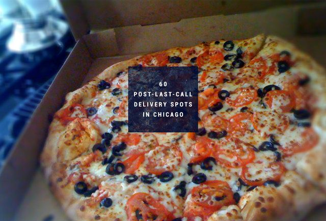 It's after 2am. Here are the 60 places in Chicago that'll still deliver you food.