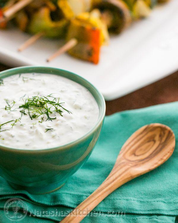 Tzatziki Sauce Recipe. | Clean Quisine | Pinterest | Tzatziki Sauce ...