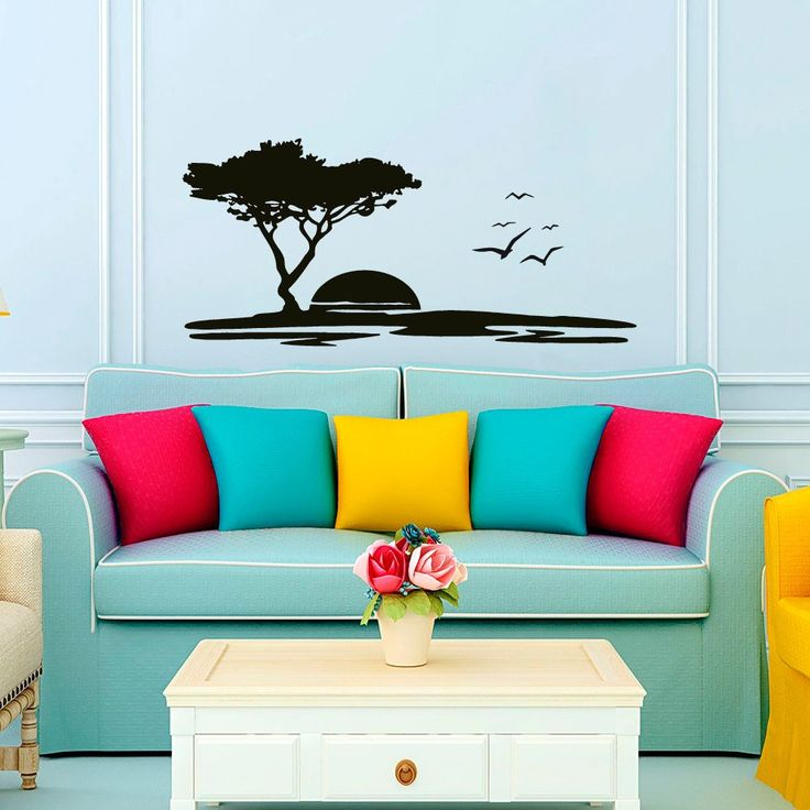 Wall Decals Landscape Sunset Flock Of Flying Birds Seagull. War Lettering. Nature Wall Stickers. Printable Grocery Store Coupons. Skyscraper Murals. Skyline Decals. Polystyrene Lettering. Cliff Signs Of Stroke. Witchcraft Stickers